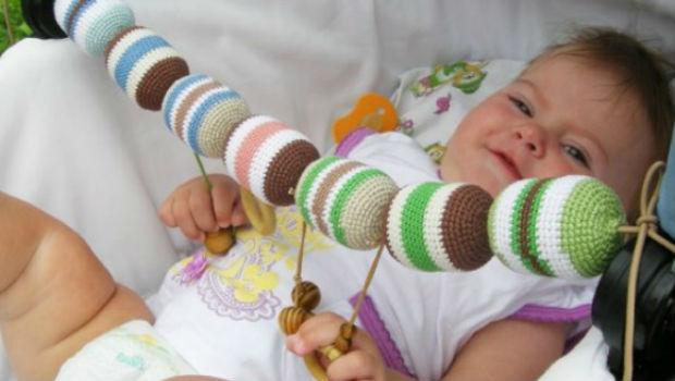 Как сделать игрушку для младенца своими руками 65