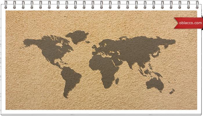 karta1Магнитная доска с картой мира своими руками. Подарок к 1 сентября