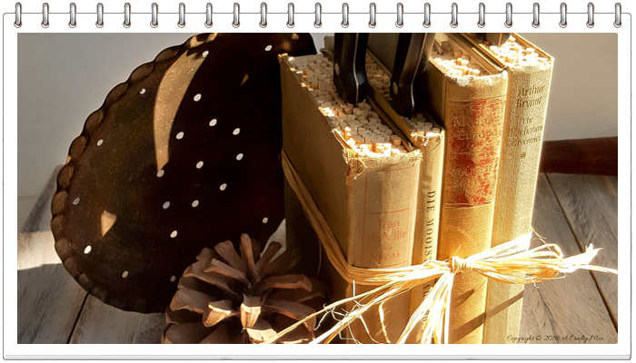 Подставка для ножей из книг