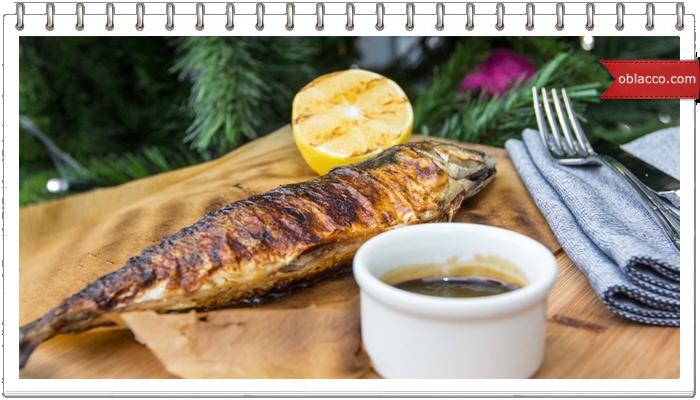Как вкусно запечь рыбу: скумбрию и семгу