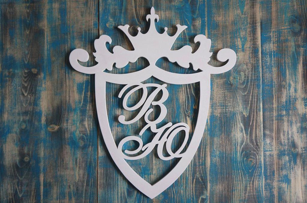 Герб семьи своими руками на свадьбу 38
