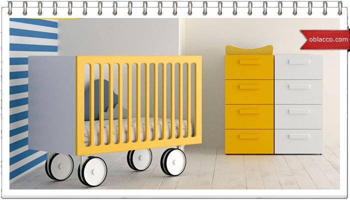 Трансформация детской кроватки
