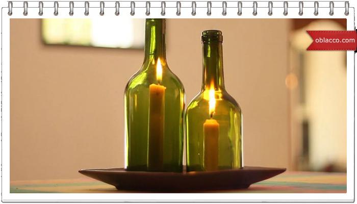 Как разрезать бутылку с помощью растительного масла