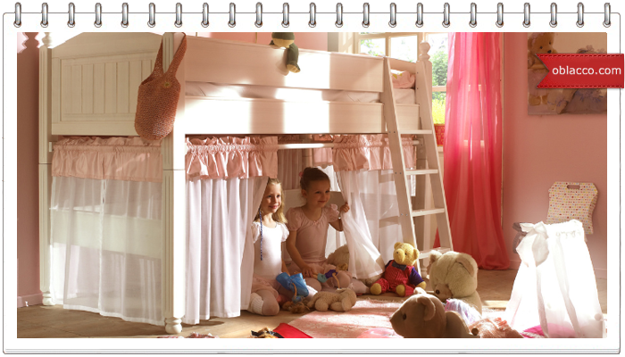 Обустройство интерьера детской комнаты