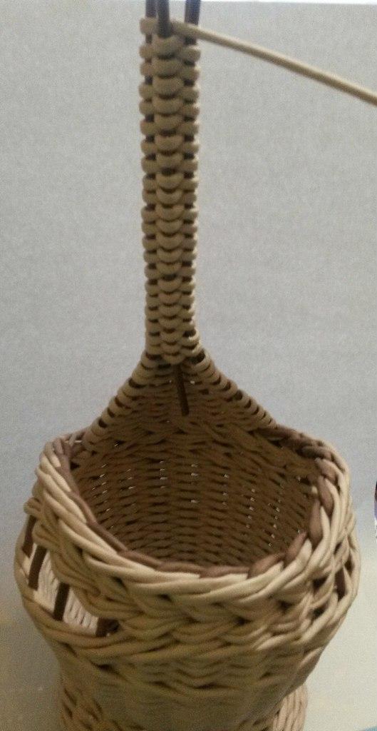 лебедь плетеный из бумаги