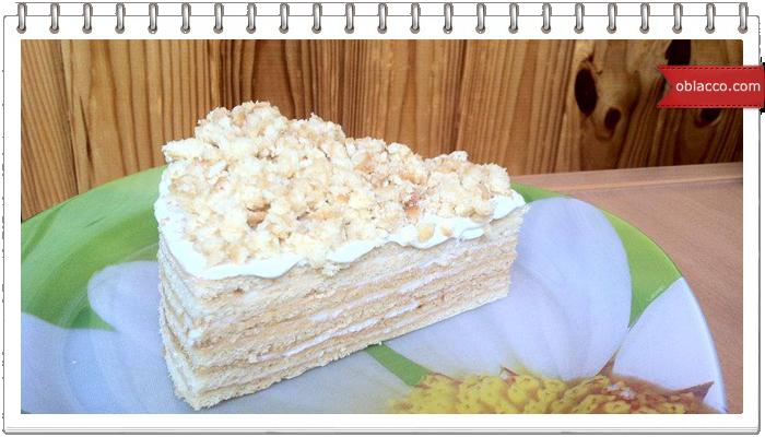 Медовый торт Милена