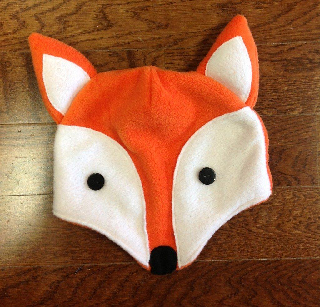 голова костюма лисички своими руками