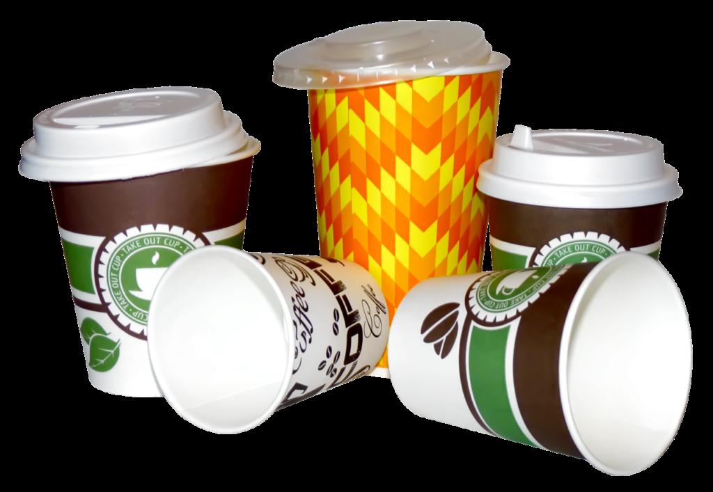 Бумажные стаканы для холодного и для горячего