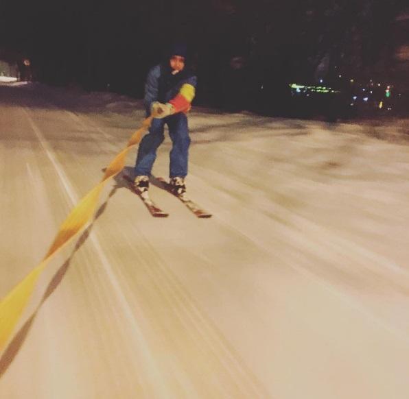 киев лыжи снег