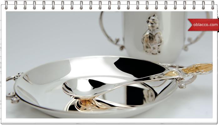 Серебряные изделия как оригинальный подарок для ребенка