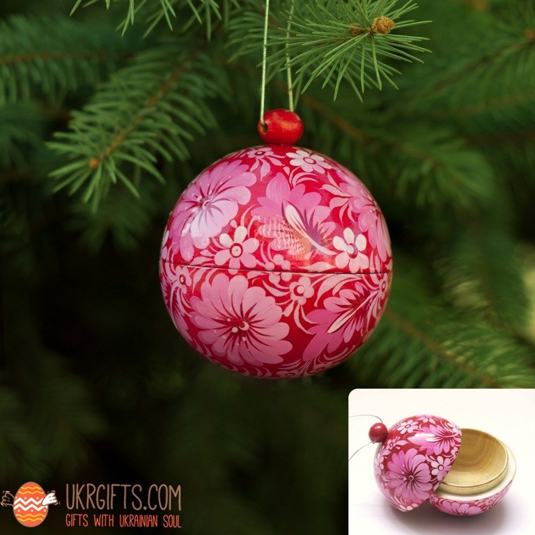 Новогодние шары. Купить эксклюзивные елочные игрушки, шары ручной работы с росписью в Киеве, Украине