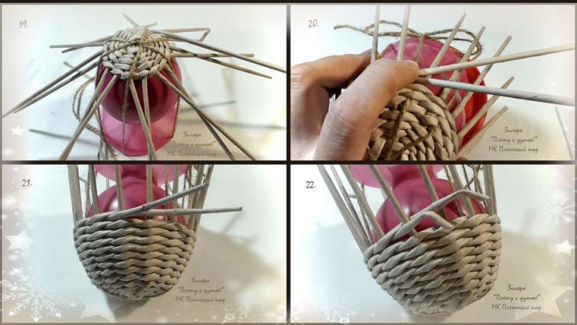 Как сплести шар своими руками