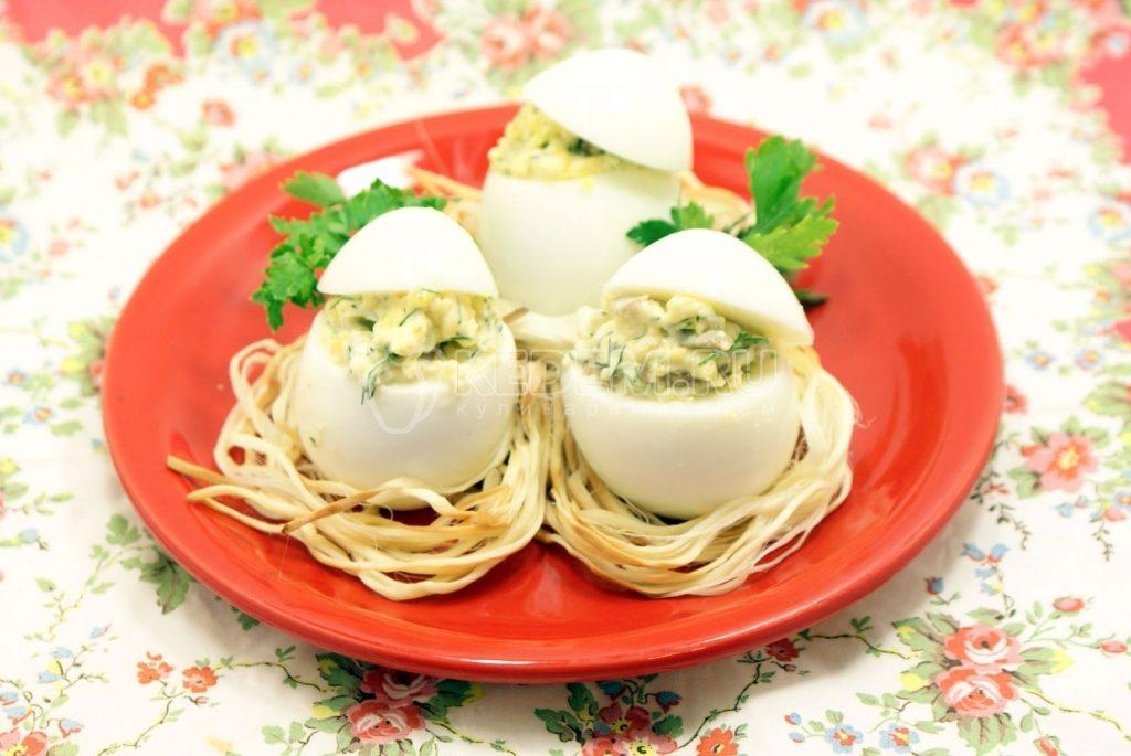 фаршированные яйца 25 вариантов начинок
