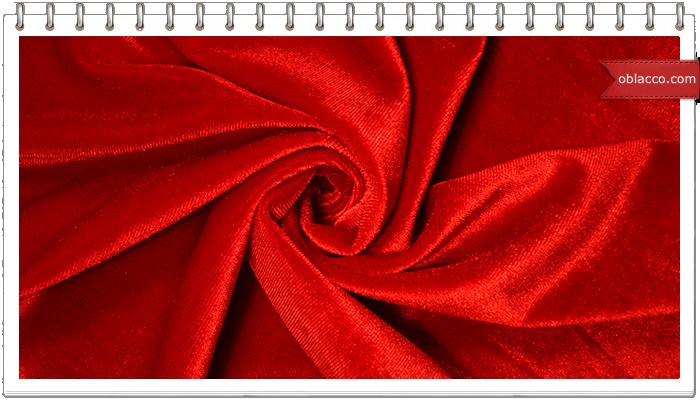 Области применения бархатной ткани