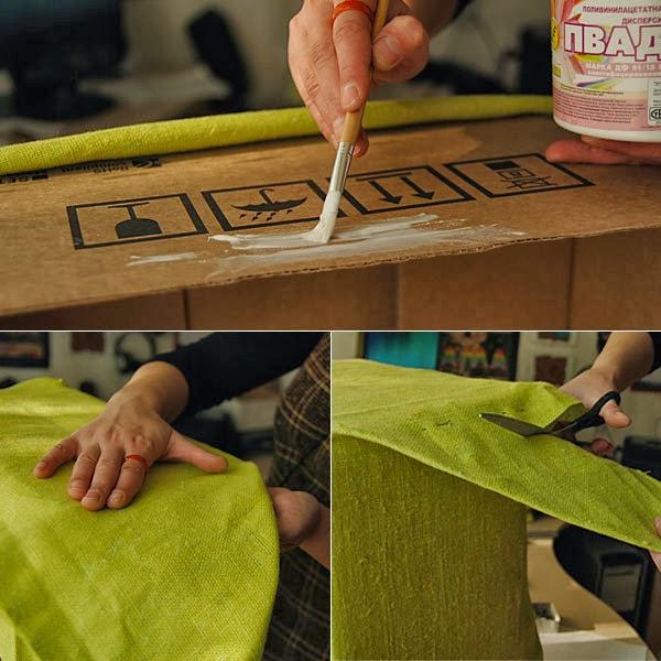 Как сделать лифчик из картона