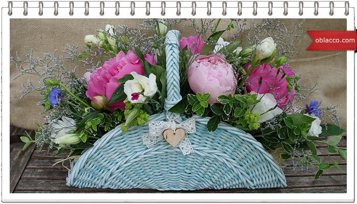 Текстильные цветы в горшочке своими руками