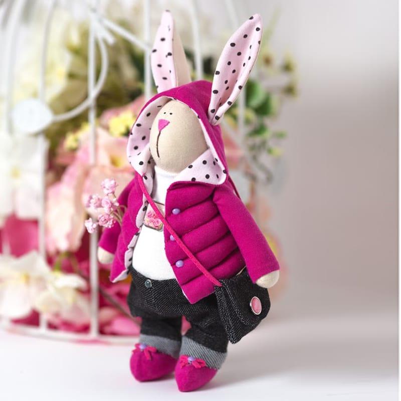 кукла тильда зайчик