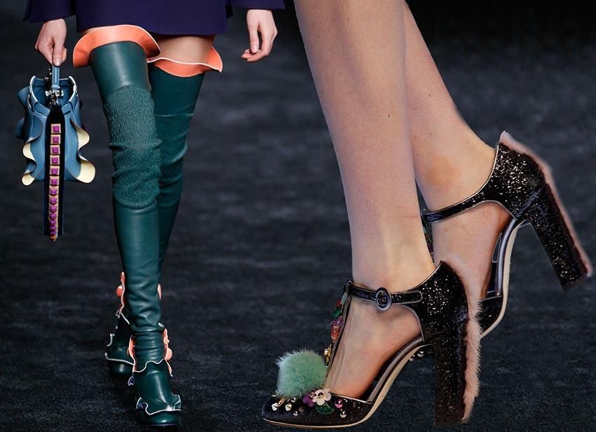 женская обувь тренд 2017
