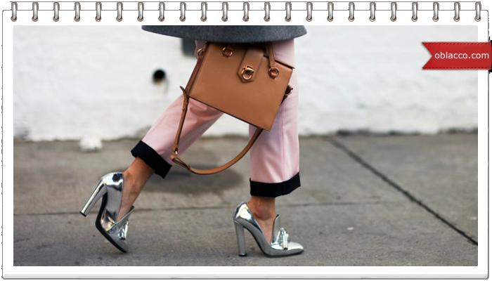 Мода на женскую обувь 2018