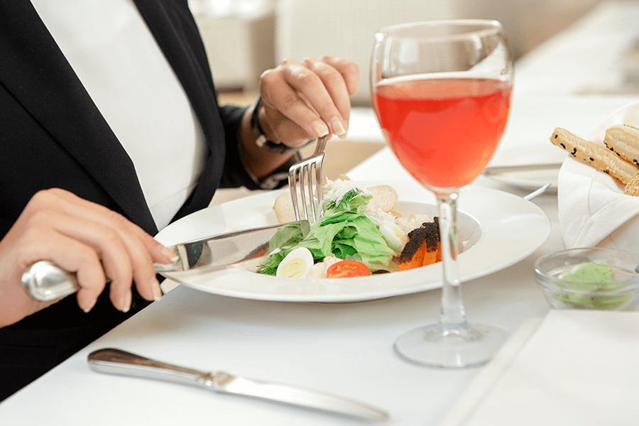 блюдо к вину