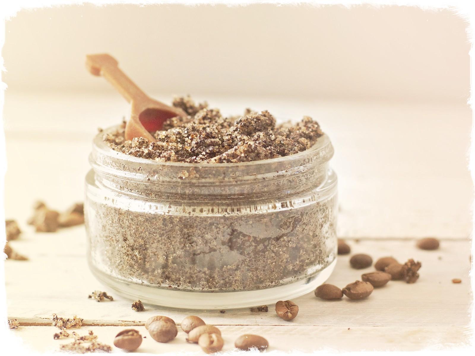 кофейно оливковый скраб