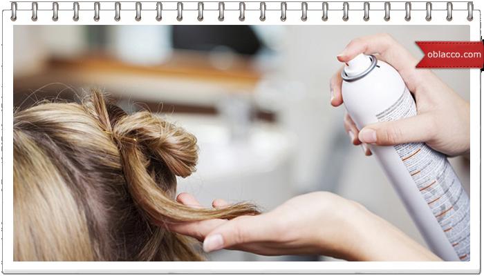Необычное применение обычного лака для волос