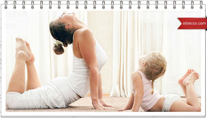 Один день жизни глазами мамы и ребенка
