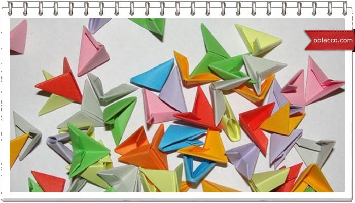 Модульное оригами. Корзинка. Мастер-класс