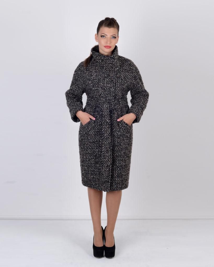 пальто рогожка