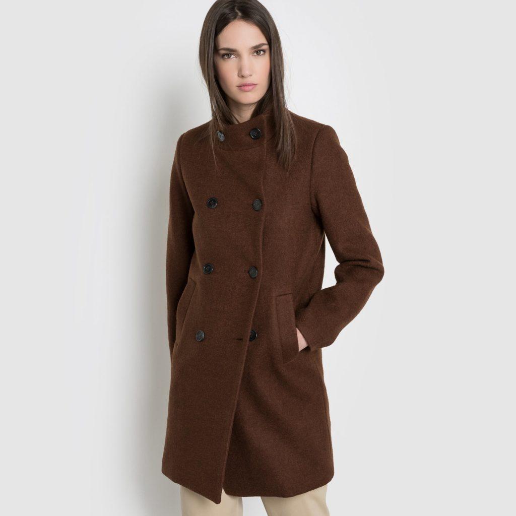 пальто драп
