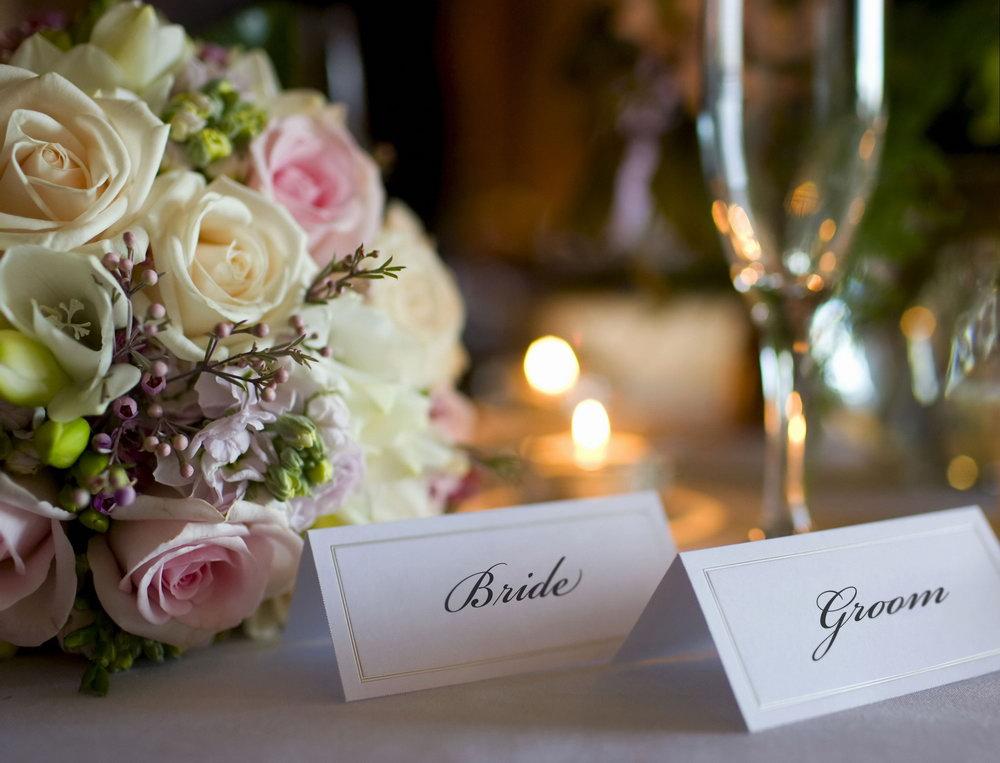 Уникальное свадебное шампанское
