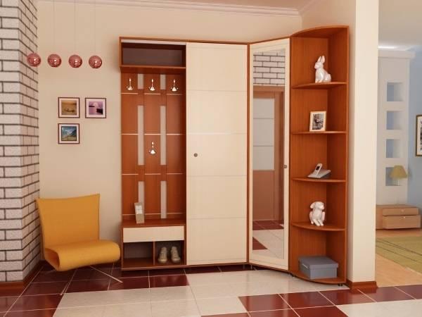 комбинированный шкаф в прихожую