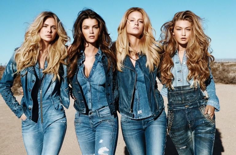 джинсовый стиль 2017