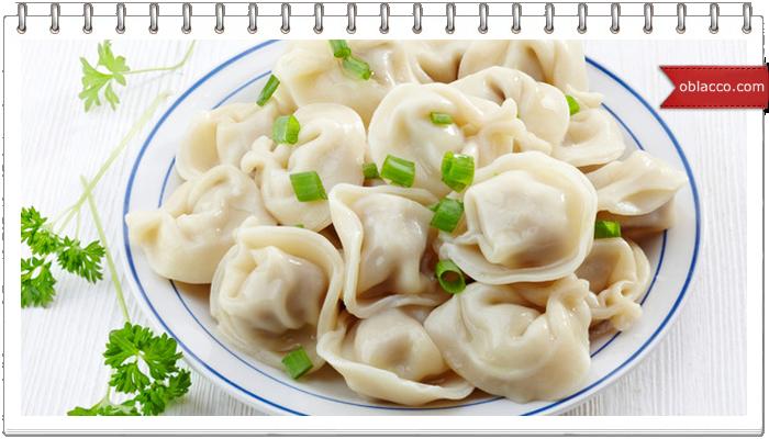 Рецепт домашних пельменей с ветчиной, грибами и зеленым лучком