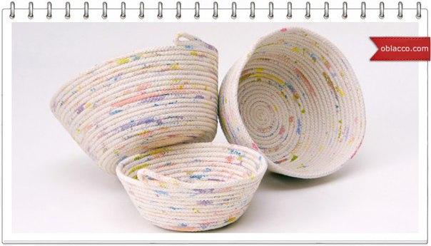 Плетение бельевой веревкой