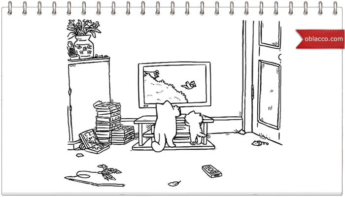 Simon's Cat. Летнее