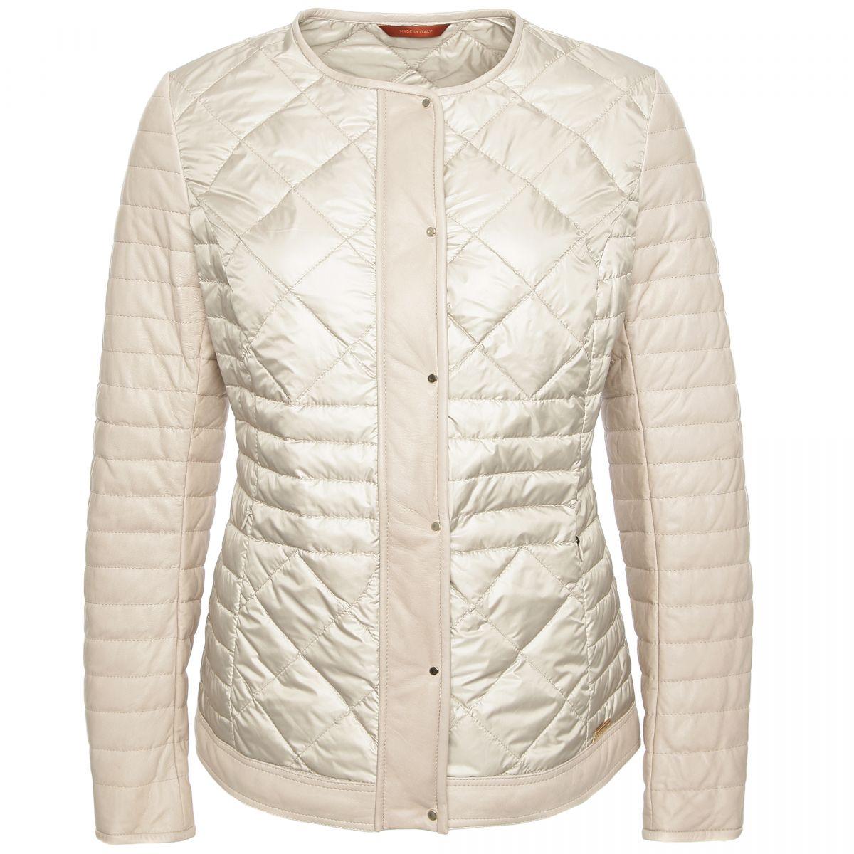 Baldinini белая куртка LIGHT GESSO