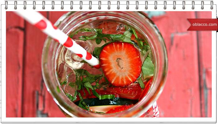 Освежающие напитки с базиликом