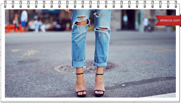 Мода и стиль. Рваные джинсы