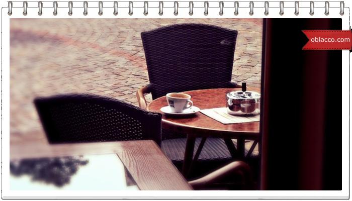 Весеннее кафе