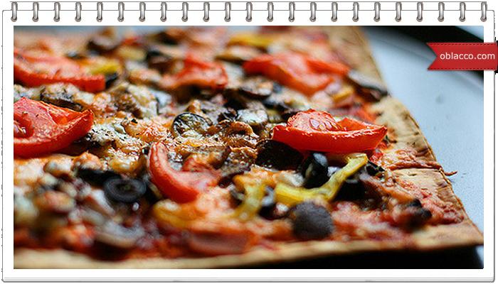 Роскошная пицца для желающих похудеть