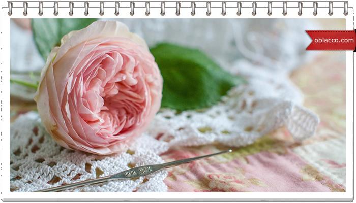 Нежные цветочки крючком. Схемы