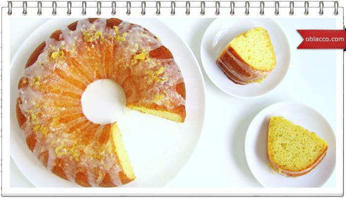 Самый вкусный лимонный кекс