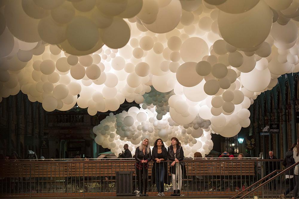 облако из шаров