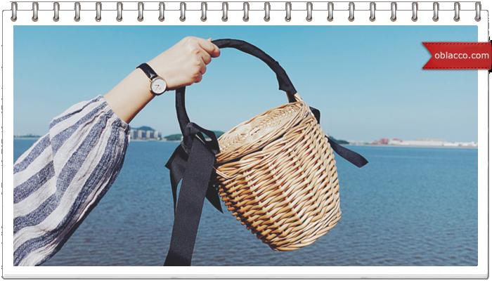 Овальная плетеная сумка. Мастер класс