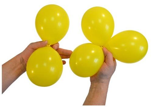 Сделать из круглых шаров своими руками 829
