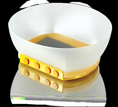 интерактивная тарелка с мультиками