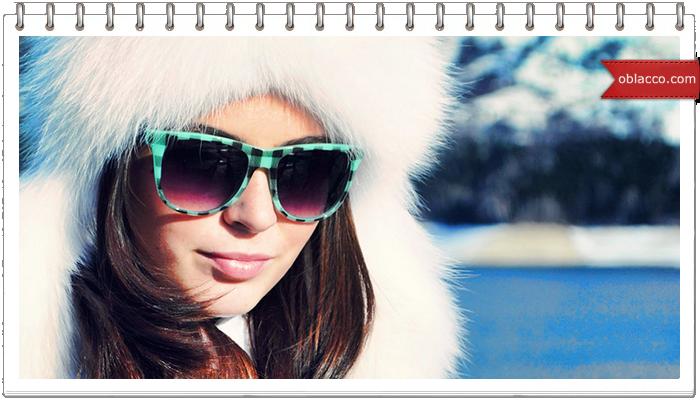 Почему нужно носить солнцезащитные очки зимой