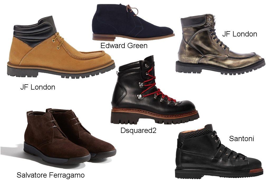 зимние ботинки 2018