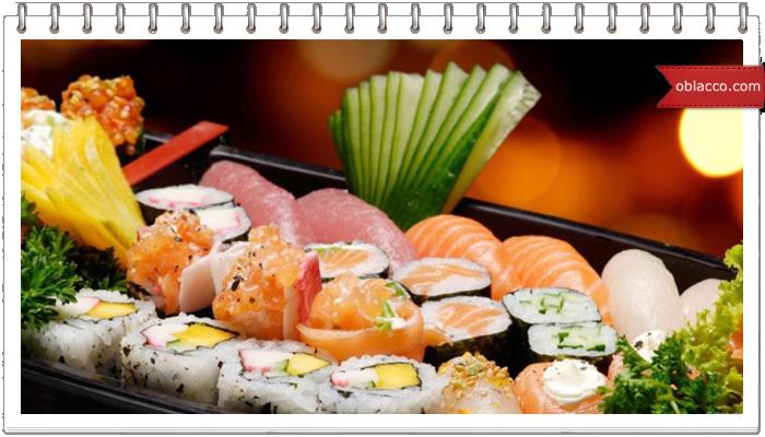 Суши, история, доставка